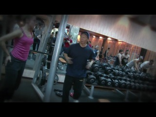 BoLo Yeung visits the Fitness Club (Russia 2011)